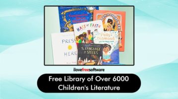 Free Library of over 6000 Children's Literature