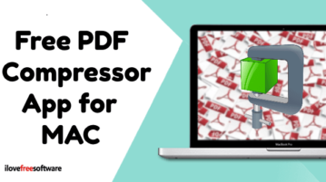 Free PDF Compressor app for macOS