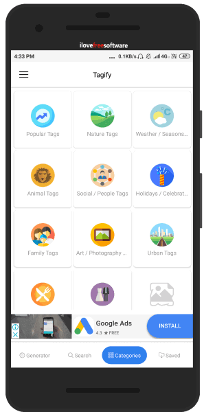 Instagram Hashtag Apps for Android