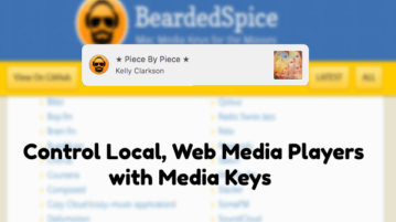 MAC App to Control Local, Web Media Players with Media Keys