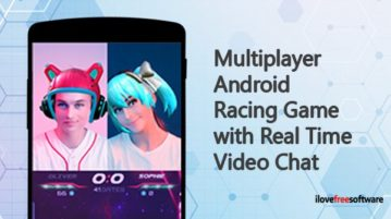 Multiplayer Android Racing Game with Real Time Video Chat