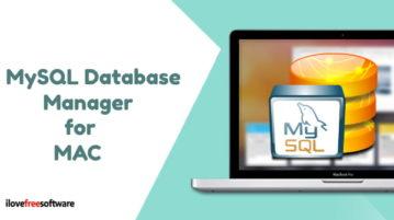 MySQL, MariaDB Database management App for macOS
