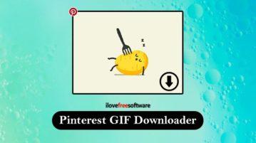 Pinterest GIF Downloader