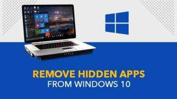 Remove Hidden Apps from Windows 10