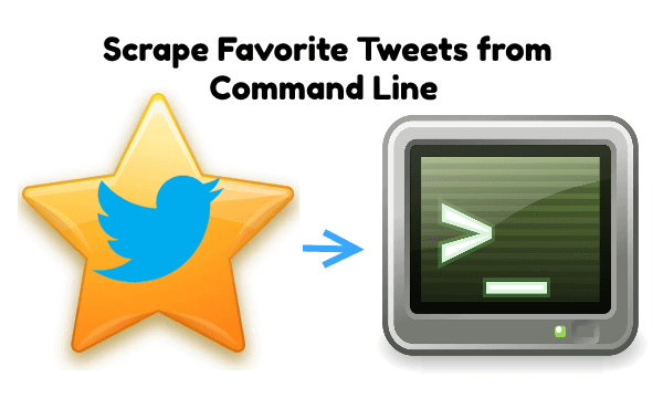 How to Scrape Favorite Tweets of any Twitter User from