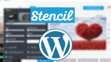 Stencil Plugin for WordPress to Design, Create Blog Images