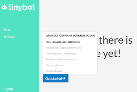 create auto reply bot for twitter