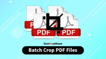 batch crop pdf files