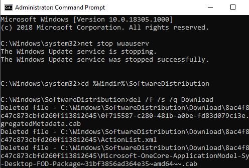 command line method