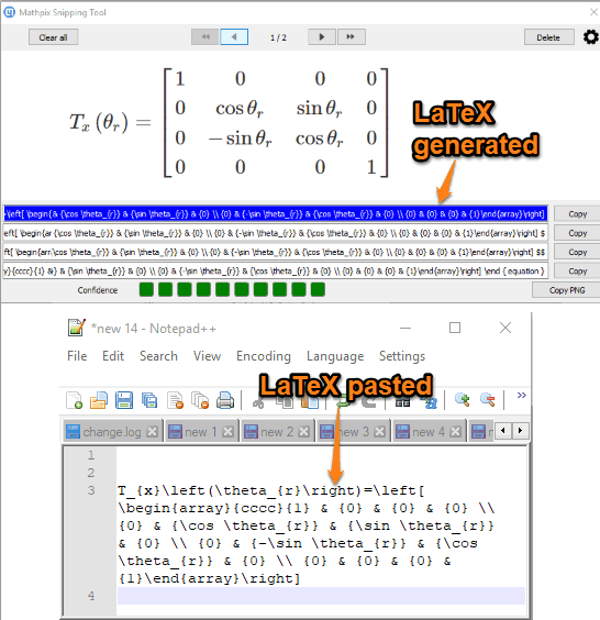 convert Math equation available in image to latex