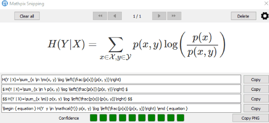 How to Convert Math Equation Available in Image to LaTeX