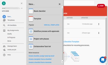 create recurring team workflows using reusable templates