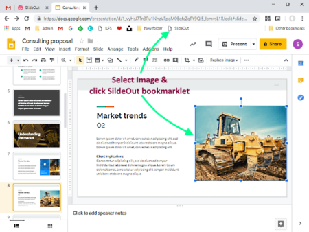 download photos from google slides