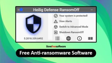 free anti ransomware software