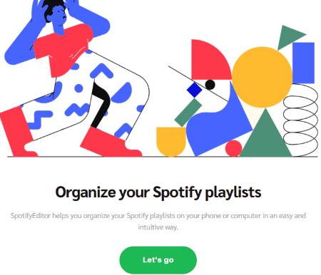 login with your spotify account
