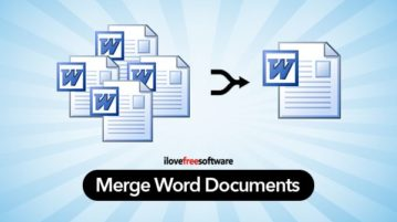 merge two word documents
