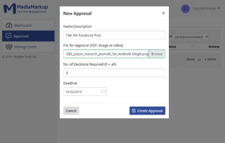 online image approval system for designers