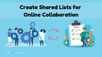 5 Websites to Create Shared Lists Online for Free