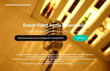 free Smule downloader