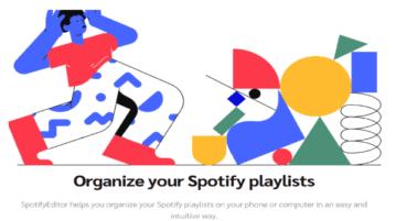 sort songs in spotify playlists
