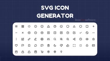 Online SVG Icon Generator Websites Free