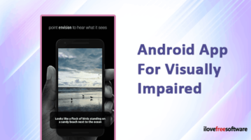 Android App for Visually Impaired