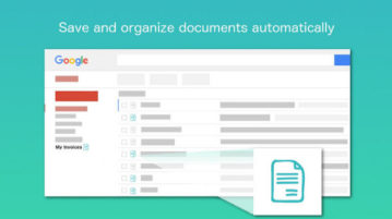 Automatically find invoices in Gmail, copy invoices to Google Drive