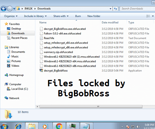 Decrypt files locked by BigBobRoss ransomware with Free tool