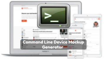 Command Line Device Mockup Generator for Screenshots, URLs