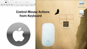 Control Mouse Actions from Keyboard