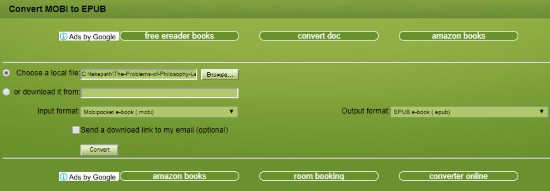Convert MOBI to EPUB Online with These Free Websites