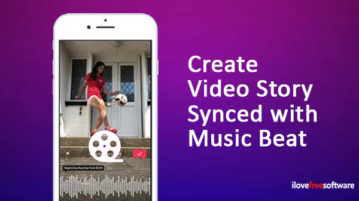 Create Video Story Synced With Music Beat