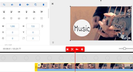 Create or edit videos online