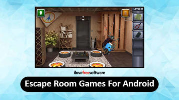 Escape Room Games For Android