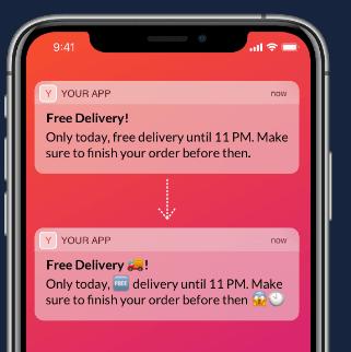 Free AI Based Emoji Generator for Push Notifications, Email Subject