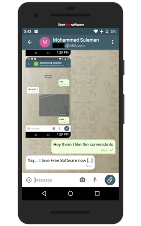 Free Messaging App Based on IMAP without Tracking Delta Chat