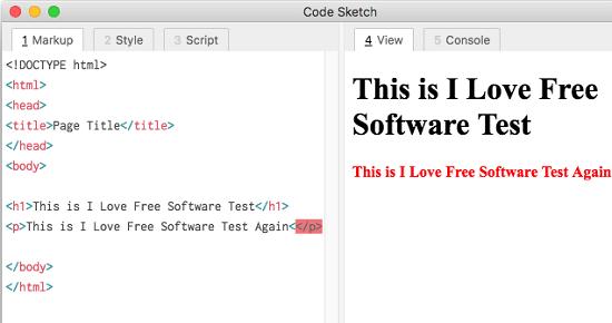 Free WYSIWYG HTML Code Editor for MAC for Coding Ideas