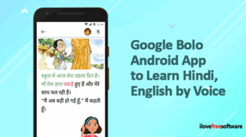 Google Bolo Android App to learn Hindi, English by Voice