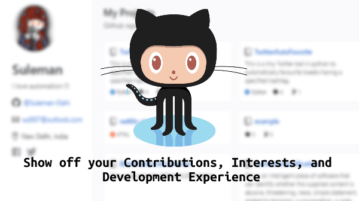 How to Create personal website to show GitHub contributions, interests in 1 click