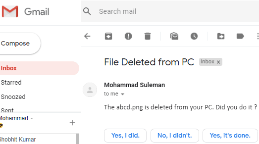 How to Get Email Alert When a Specific File is Deleted from PC