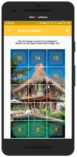 Instagram Grid Simulator Android App