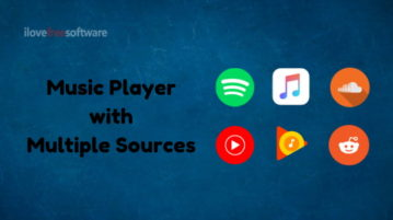 5 Free Multi-in-One Music Players for Spotify, SoundCloud, Reddit