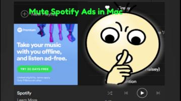 Mute Spotify Ads in Mac