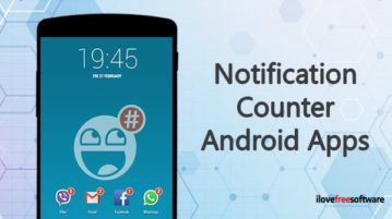 Notification Counter Android Apps