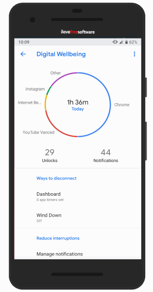 Notification counter Android app