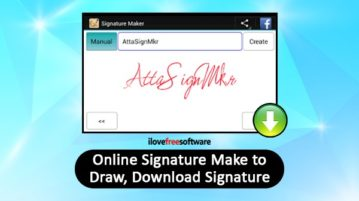 Online Signature Maker