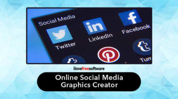Online Social Media Graphics Creator
