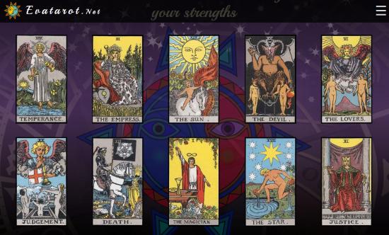 Online Tarot card game