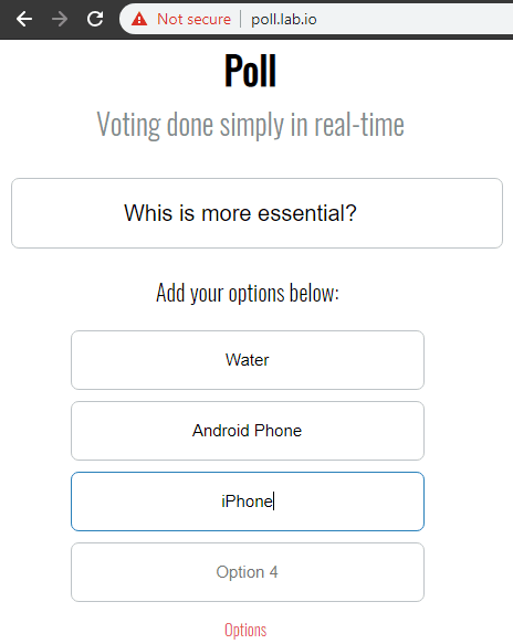 Poll Lab in action