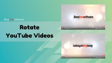 How to Rotate Videos on YouTube?